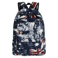 MC245 - Euro Flag Design Urban Casual Backpack / College Student Cool Fashion Treanding Bag GK1