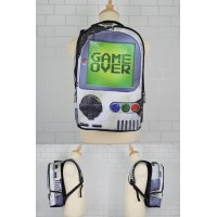 Cool Street Art Design Backpack / Urban Light Weight Leisure Bag [ MC160 , MC161 , MC162 , MC163 ]