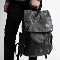 MC268 - Genuine KAKA Camouflage Modern Design Cool College Student Office Men Backpack MK1