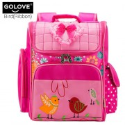mc297 - Cute Girl Quality School Bag / Primary School Space Backpack (太空书包)  -PK3