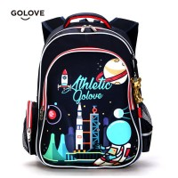 mc298 - Space Travel Cool Design Kids Backpack / 6 wheels Trolely Bag For Kids -PK3