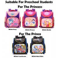 Preschool Wonderful Delicate Deisgn Spine Protective Space Backpack (太空书包) -PK3
