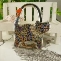 Cat Shape Handbag Hook  - Handbag Butler / Handbag hook / Folding Bag Hanger / Purse Hanger